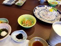 ◆ 車旅で広島へ、その20タコとフグの島「日間賀島」へ ふぐづくし夕食編 (2019年3月) - 空と 8 と温泉と