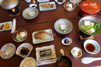 ◆ 車旅で広島へ、その21タコとフグの島「日間賀島」へ 朝食 感想編 (2019年3月) - 空と 8 と温泉と