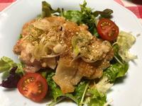 油淋鶏&肉じゃが★(^^♪・・・・・晩ご飯 - 日だまりカフェ