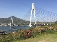 しまなみ海道  快晴の  サイクリング - 旅と数学  それとdiy