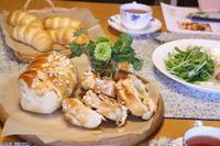 ピーナツロールと体験レッスン - 小麦の時間   京都の自宅にてパン教室を主宰(JHBS認定教室)