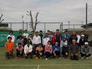 硬式テニスミックスダブルス大会結果 - 東金市体育協会テニス部