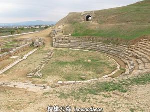 古代シキオンの劇場 - 日刊ギリシャ檸檬の森 古代都市を行くタイムトラベラー