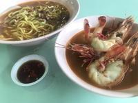 4/19☆やはりシンガポールは海老麺や〜♪ - よく飲むオバチャン☆本日のメニュー
