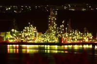 道南の春~工場夜景 - Photo Of 北海道大陸