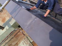 渋谷区栄和ハウス屋根葺き工事完了 - 一場の写真 / 足立区リフォーム館・頑張る会社ブログ