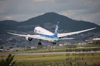 昨年伊丹空港で取りましたANA JA821A 787です。 - 写真で楽しんでます! スマホ画像!
