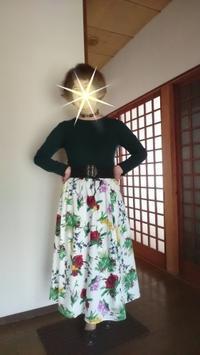 春ときめく花柄スカートと幸せの本質は日常に - 難病あっても、楽しく元気に暮らします(心満たされる生活)