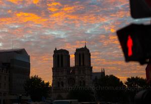 Cathedrale Notre-Dame de Paris 2013 Autumn - When You're Smiling  君微笑めば