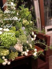 共有 -  Flower and cafe 花空間 ivory (アイボリー)