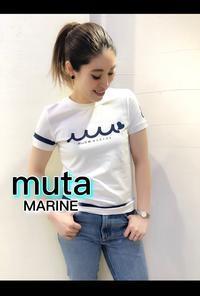 「mutaMARINE」新作Tシャツ入荷です。 - UNIQUE SECOND BLOG