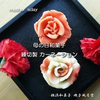 母の日 2019 カーネーションの和菓子 ご予約開始☆磯子風月堂 - 横浜和菓子 磯子風月堂(和菓子屋のムスメ)