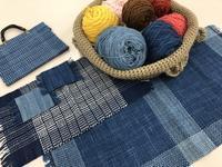 始まりました。自然のぬくもり〜草木染めの手織りABC - 手染めと糸のワークショップ