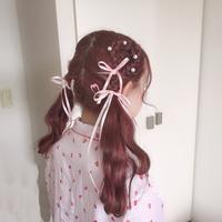 💟ヘアアレンジ(三つ編みハートツイン)♡1 - ♡ seika's blog ♡