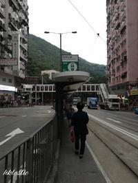 トラム西行@柏架山道→琉璃街 - 香港貧乏旅日記 時々レスリー・チャン