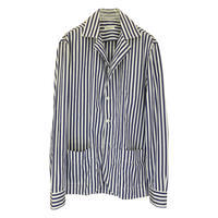 Salvatore Piccolo サルヴァトーレ・ピッコロ ロンドンストライプシャツジャケット(ジャッカ・シマジ) - 下町の洋服店 krunchの日記