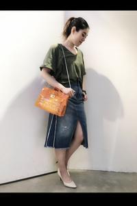 2019SS「G-STAR RAW ジースターロウ」新作Tシャツ・デニムスカート入荷です。 - UNIQUE SECOND BLOG