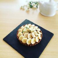 チョコバナナタルト - Sweets Studio Floretta* Flower Cake & Sweets Class@SHIGA