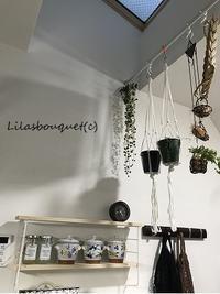 キッチンにシェルフ&ゴミ袋収納♪ - Lilasbouquet+HOME&F