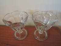 Goodwillでレトロなミニパフェグラスを買う - じゃポルスカ楽描帳