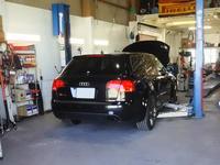 RS4オイル交換 - hide's garage