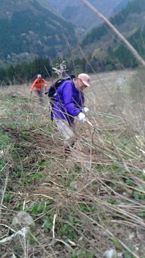 GW・山開き前登山道点検整備実施 -