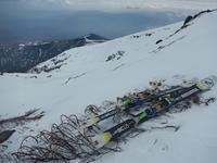 上はカリカリ、下はグサグサでギャフン…御嶽山 - 山にでかける日