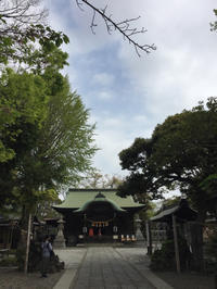 神社巡り『御朱印』⛩菊田神社と幕張ワンコ散歩 - ハタ坊(釣り・鳥撮・散歩)