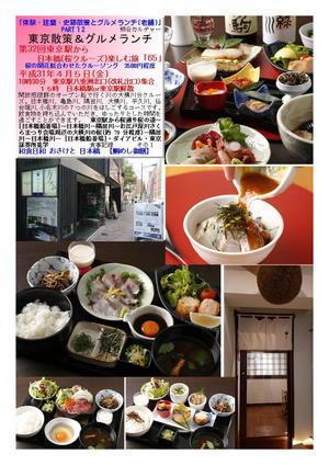 和食日和 おさけと 日本橋  【鯛めし御膳】