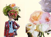 COLLAGE CARD #105 : FLOWERS「花」 - maki+saegusa