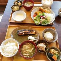 浅間サンライン・飯 さかい * 炭火焼のお魚定食が美味しい~♪ - ぴきょログ~軽井沢でぐーたら生活~