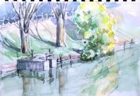ぽかぽか陽気の小さな池 - ryuuの手習い