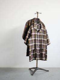NEEDLESCabana Shirt - C/L Cloth / Plaid - 『Bumpkins putting on airs』