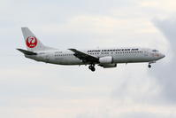 2019年4月21日 今日のJTA B737-400 ベイパー - 南の島の飛行機日記