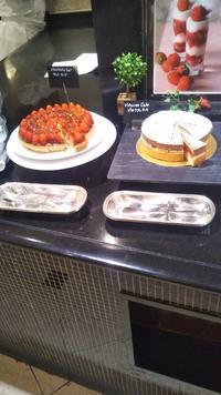 ウェスティンホテル東京ザ・テラスストロベリーデザートブッフェ - C&B ~ケーキバイキング&ベーグルな日々~