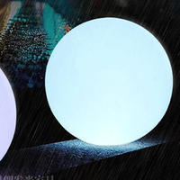 IP68 水盤にも使えるLED内蔵ボール型光る家具 - LED照明ニュース、監視・防犯カメラニュース、省エネ情報機器ニュース