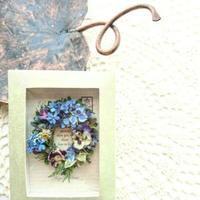 小花のリース - みどりのある暮らし  【植物を取り入れてENJOY・EASY・ECOLOGYな3Eライフ☆】