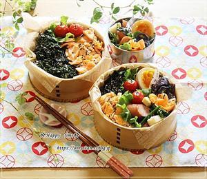 2食丼風弁当とわんこ♪ - ☆Happy time☆