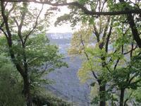 早朝の弘明寺公園と大岡川 - 神奈川徒歩々旅