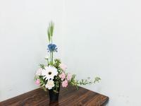 エルシェイプ風アレンジメント☆ - Flower Days ~yucco*のフラワーレッスン&プリザーブドフラワー~