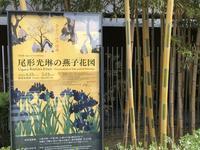「尾形光琳の燕子花図」@根津美術館 - まましまのひとり言
