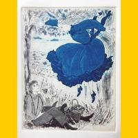 ギャラリー&カフェ草花舎/島根での個展は中盤です! - +P里美の『Bronze & Willow』Etching note