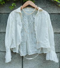 French Antique blouse - carboots