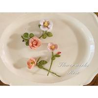 季節花バラ -  花の手仕事[flowerworks]