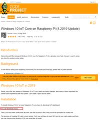 [IoT Core Update] Windows10 ARM 64bit Raspberry Pi 3B+ インストール&起動 [2019/4月版] (4/23) - 体重と今日食べたもの