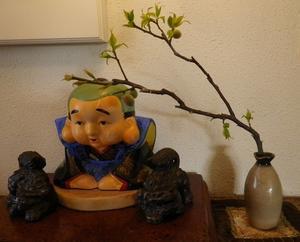 記念樹・庭の梅の樹 -