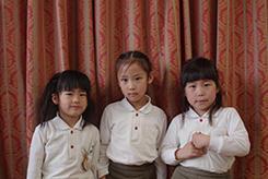 4月のお誕生会。ー2019年度ー - 陽だまりの小窓 - 菊の花幼稚園保育のようす