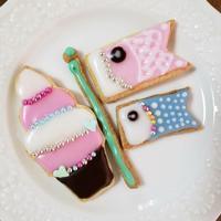 5/4アイシングクッキー教室@成田 - cache-cache~成田市ハンドメイドマーケット&オープンガーデン~