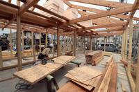 飲食店舗/上棟/倉敷 - 建築事務所は日々考える