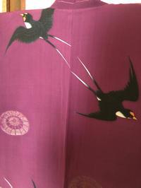 番傘に燕の羽織 - 中村かをる創作帯屋